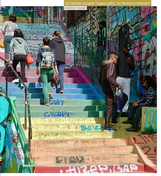 Les escaliers du cours julien Marseille