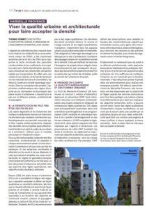 Capture article qualité urbaine