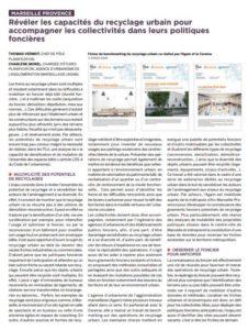 Article FNAU recyclage urbain