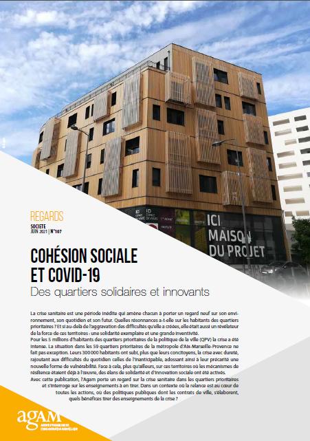 page de couverture regards cohesion sociale
