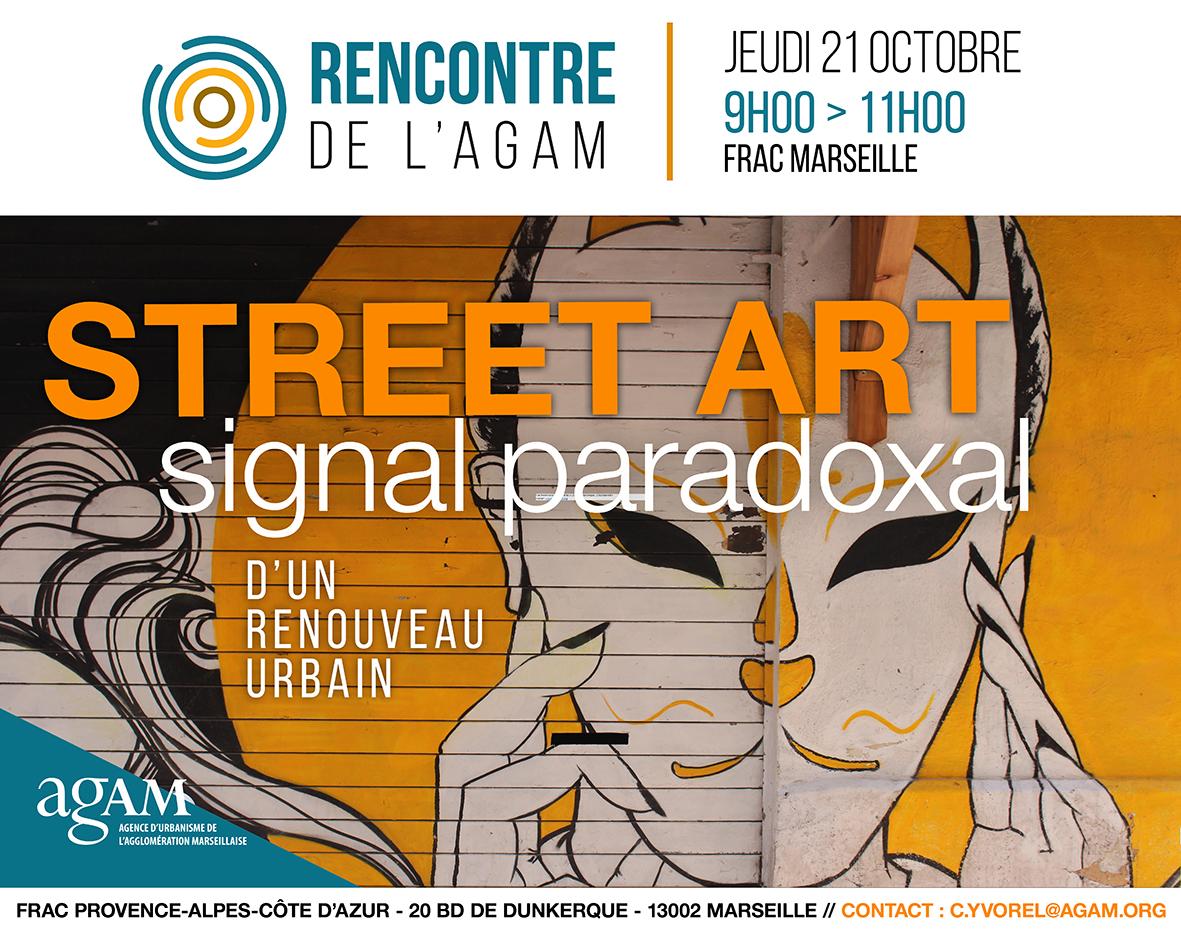 Rencontre de l'Agam street art